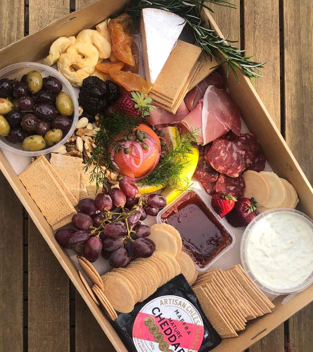 Picnic at the park Cheese Box